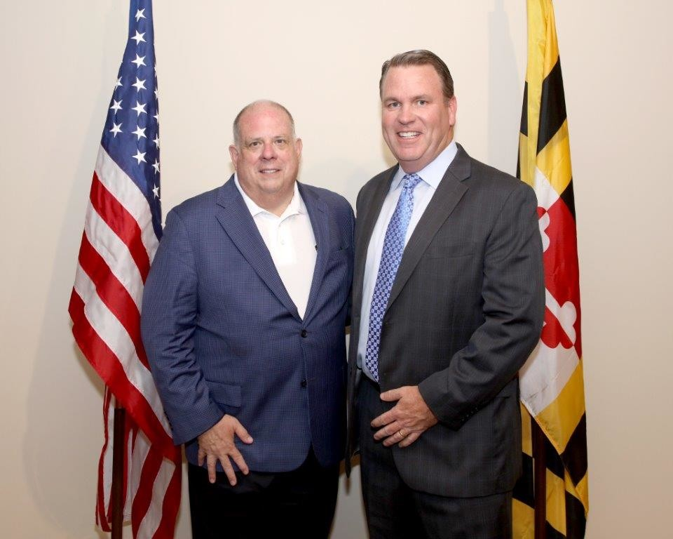 Governor Hogan & Jerry Taylor